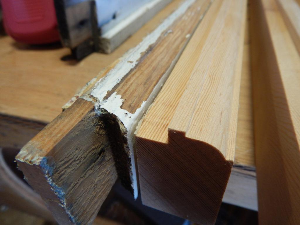 Wood sash repair